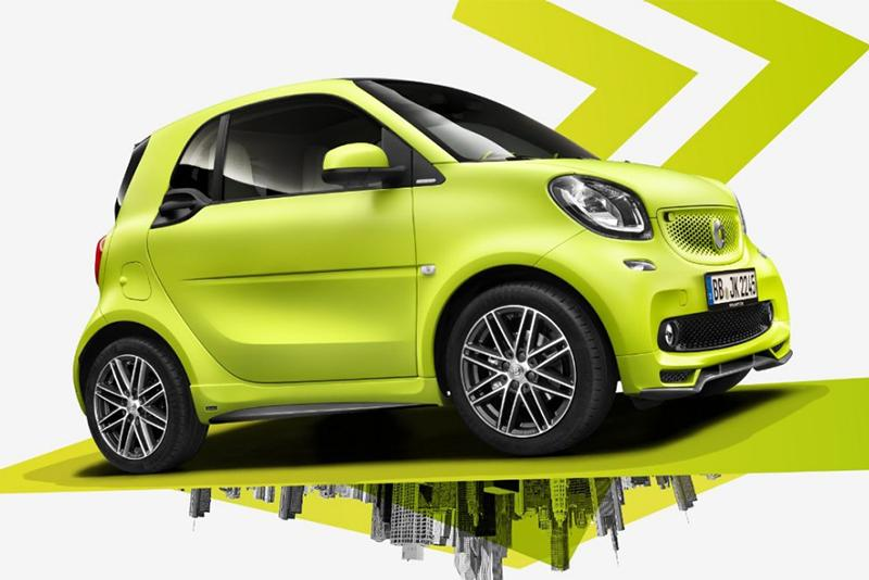 smart fortwo tailor made