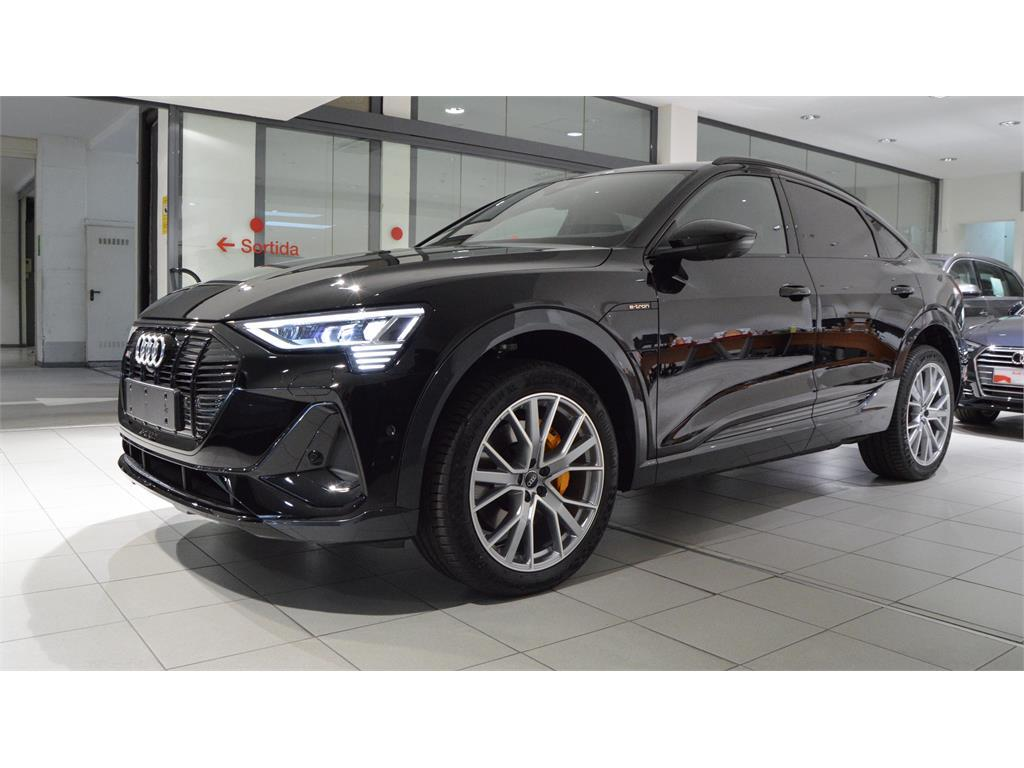 Audi e-tron Sportback 55 quattro Black line edition