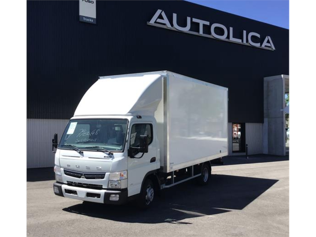 IDEAL REPARTO FUSO + CAJA 22m3