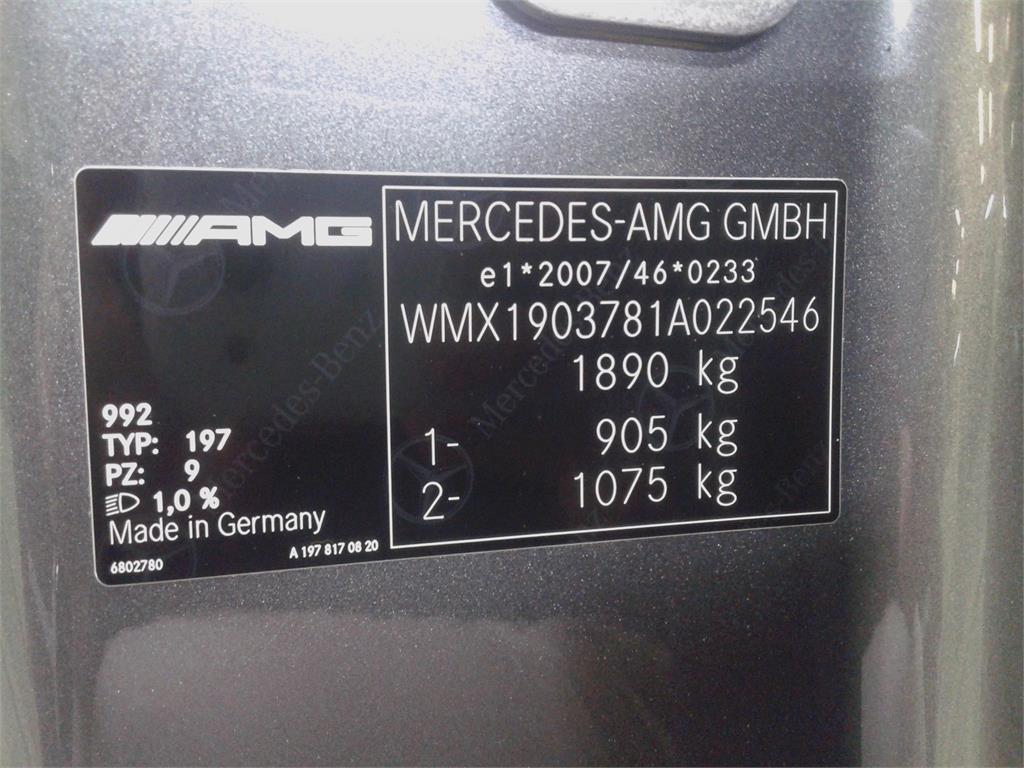 Mercedes-Benz AMG GT Coupé S 522