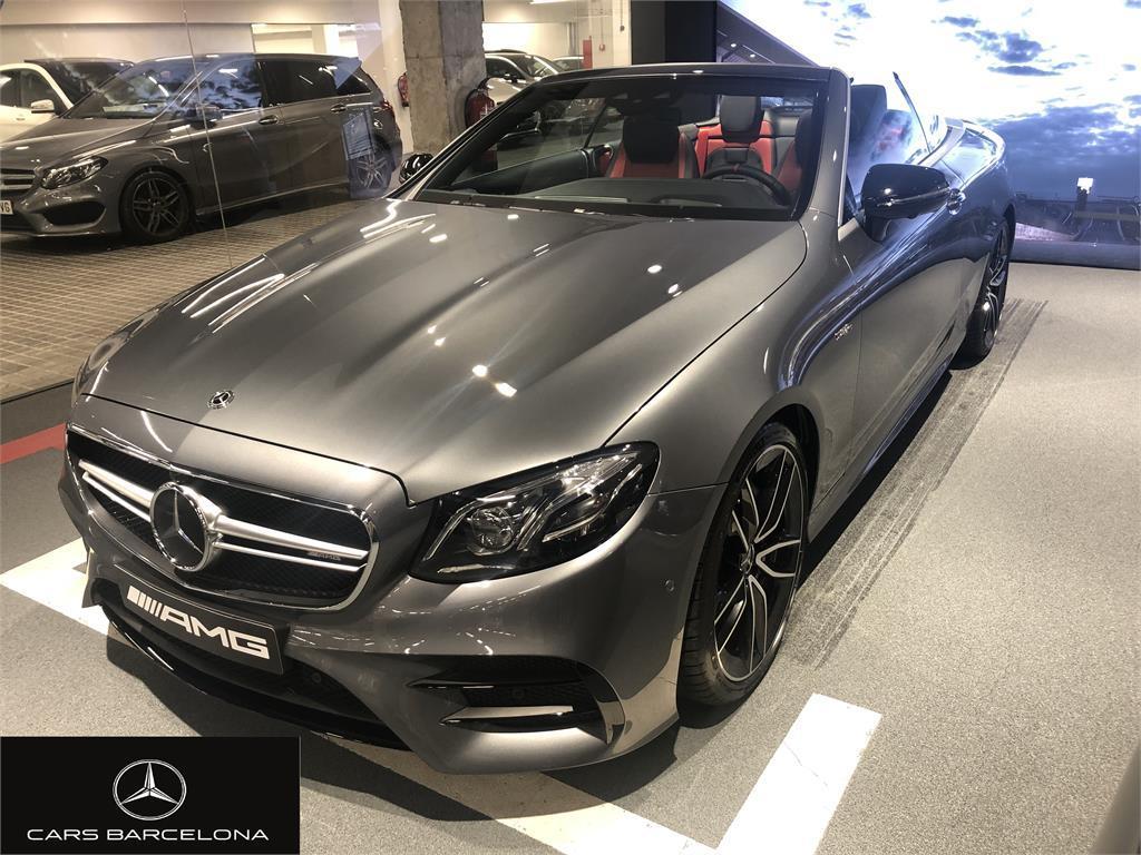 Mercedes-Benz Clase E Cabrio 53 AMG 4Matic+ 9G-Tronic