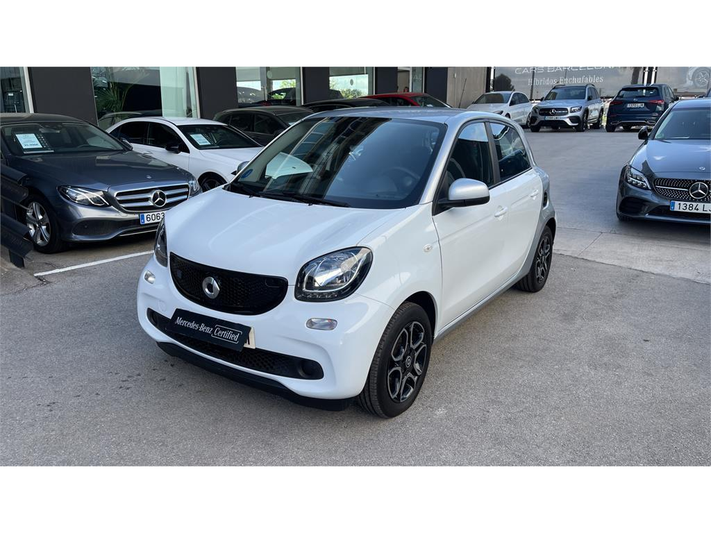 smart forfour 60kw(81cv) electric drive