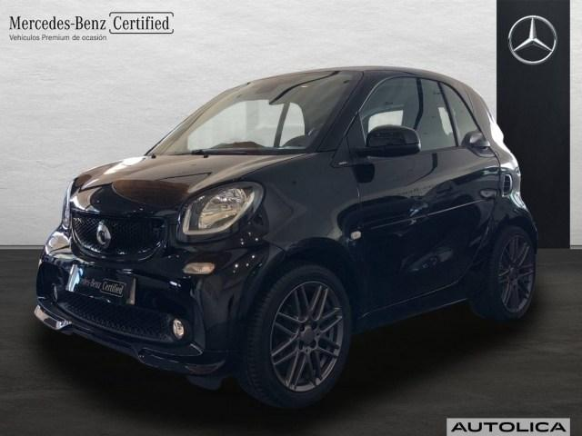 smart fortwo fortwo coupe Basis Coupe passion